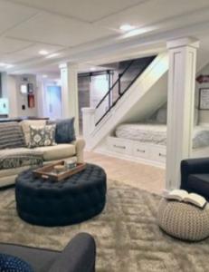 Large living basement