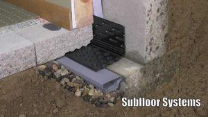 Basement Sub floor